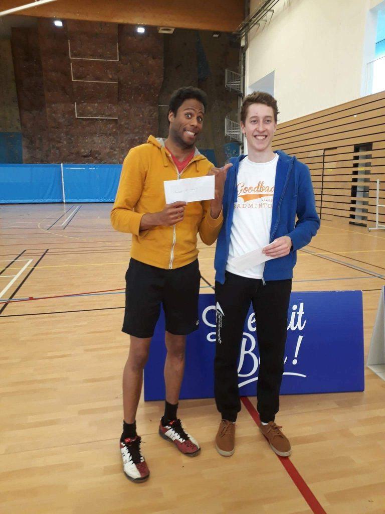 Championnat badminton Marne 2018