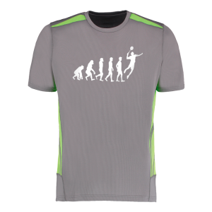 T-Shirt Goodbad Badminton Evolution homme